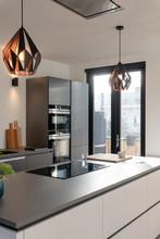 Kitchen In A Modern Design Apa...