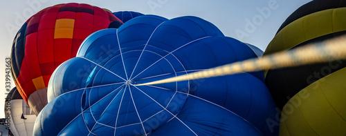 Festival internacional en la ciudad de Igualada (Barcelona), donde se reúnen globos aerostáticos de todos los países del mundo. De colores y formas muy diferentes.