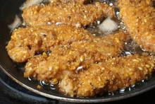 Pollo Rebozado Con Maiz