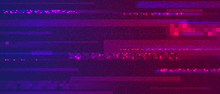 Glitchy Pixelated Abstract Digital Noise Background