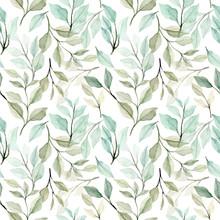 Watercolor Seamless Pattern Gr...