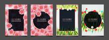 Set Of Elegant Cover Design Te...