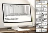 Black and White Portfolio Digital Presentation Layout - 340013695