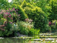 The Gardens Of Claude Monet's...