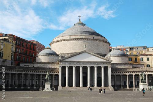 Valokuva The church of San Francesco di Paola, Naples, Italy