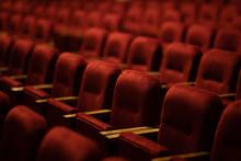 Red Velvet Seats For Spectator...