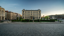 Square Of Jan Palach In Prague...