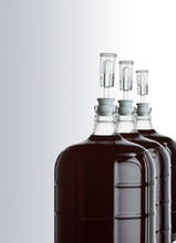 Glass Carboy Of Red Wine-01