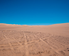 Sand Dunes In Southern Califor...