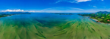 Aerial View Of Loc Binh Lagoon In Tam Giang Lagoon, Hue, Vietnam.