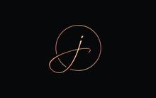 J Or Jj Lowercase Cursive Lett...