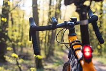 Gravel Bike, Against The Backg...