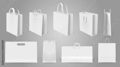 Photo Realistic shopping bag