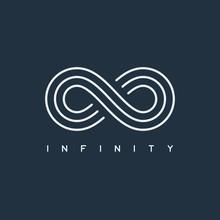Thin Line Infinity Symbol