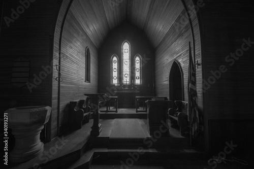 Fototapeta Interior Of Cathedral obraz