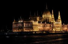 Illuminated Hungarian Parliame...