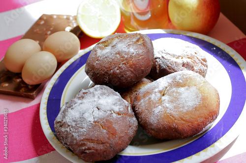Photographie Véritable recette des Ponchkis, beignet polonais