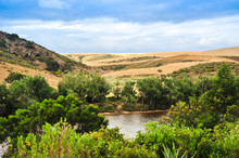Beautiful View Of The Breede River In The Western Cape Of South Africa
