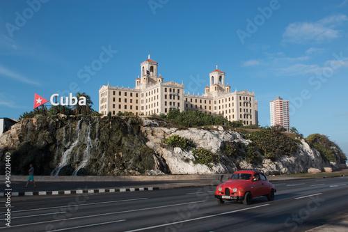 Hotel Nacional, la Havane, Cuba Canvas-taulu