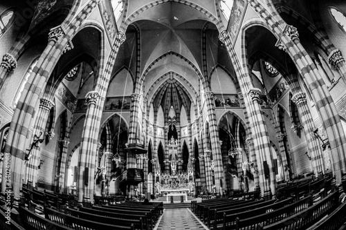 Interior Of Capuchin Church Fototapet