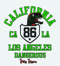 California Tshirt Print And Embroidery Graphic Designs Vector Art