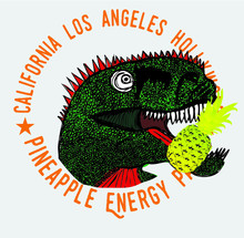 Dinosaur Hand Drawing Tshirt Print Embroidery Graphic Design Vector Art