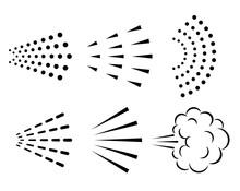 Spray Vector Icon Collection