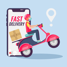 Online Delivery Service , Onli...