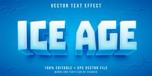 Editable Text Effect - Ice Blo...