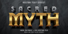 Editable Text Effect - Golden ...