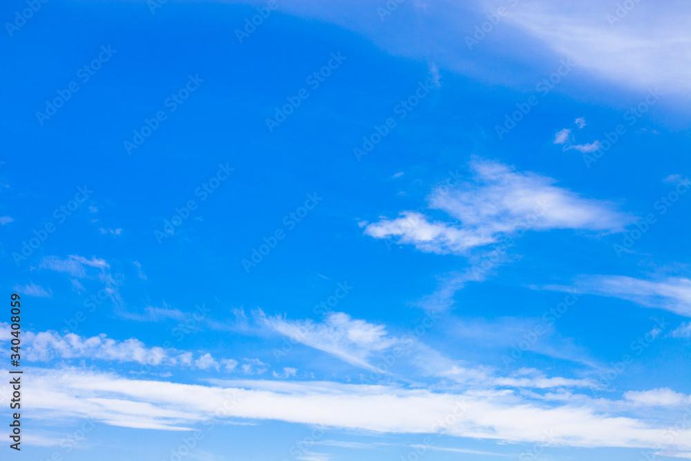 Fototapeta błękitne niebo i białe chmury 3