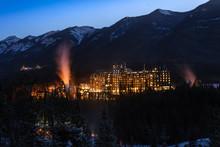 Banff Springs Hotel During Sun...
