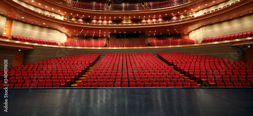 theater auditorium Canvas Print