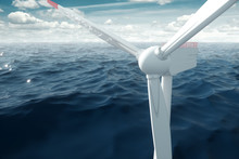 Windmills At Sea Clean Energy,...