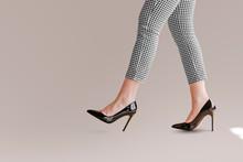 Businesswoman In Heels