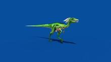 Compy Jurassic Dinosaur Runs B...