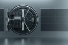 Bank Vault Door, Large Safe, S...