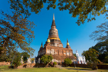 Wat Phra Si Sanphet In Ayuttha...