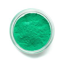 Mint Color Powder Paint In Gla...