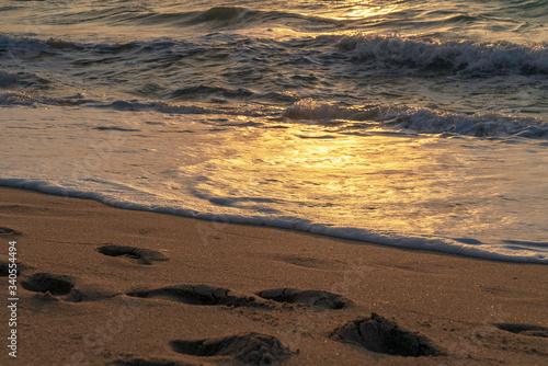 Fototapety, obrazy: Strand, Sonnenaufgang