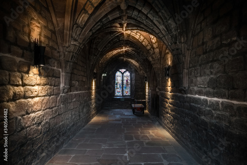 Chester Cathedral cloister 1 Canvas-taulu
