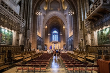 Liverpool Cathedral Interior Long Shot