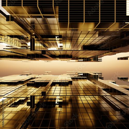 Fotografering weite abstrakte Fläche