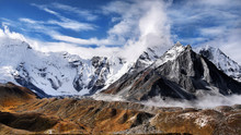 Himalaya Mountains Glaciers Hi...