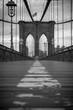 Surface Level Of Brooklyn Bridge