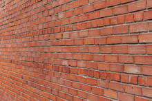 Red Brick Wall In Different Angles