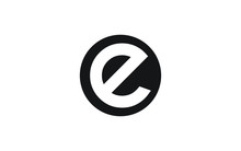 E Letter Icon Or Logo Design, Vector Template