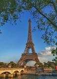 Fototapeta Wieża Eiffla - View Of Tower