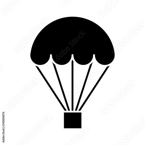 Obraz na płótnie Hot air balloon icon