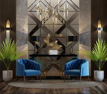 Luxurious Reception Hall Desig...